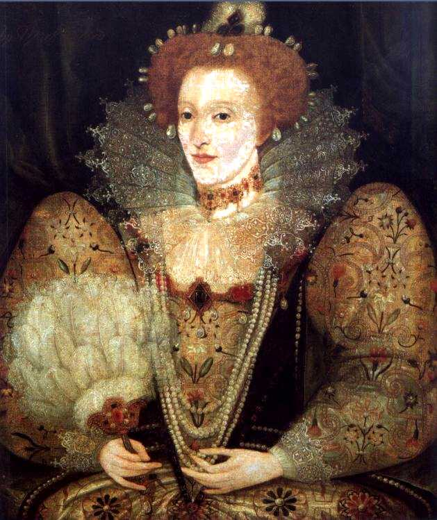 Queen Elizabeth 1 Jewelry Queen elizabeth i. by an